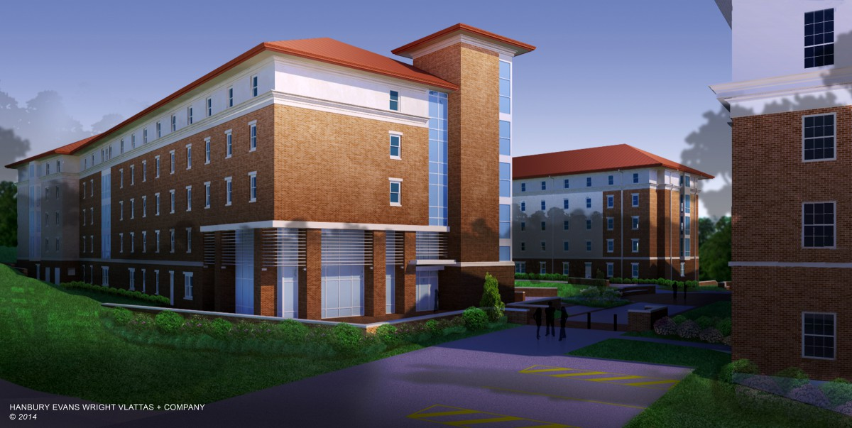 University Of Mississippi Residence Hall Complex on Morton Buildings Company